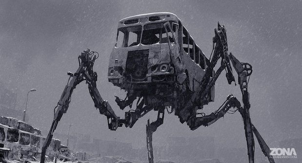 Concept Art by Alex Andreyev