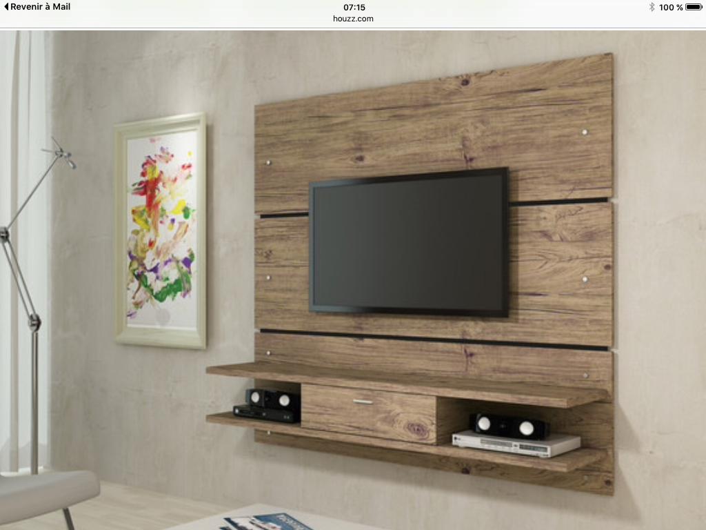 Pin de leslie walter en living room inspiration - Ideas mueble tv ...