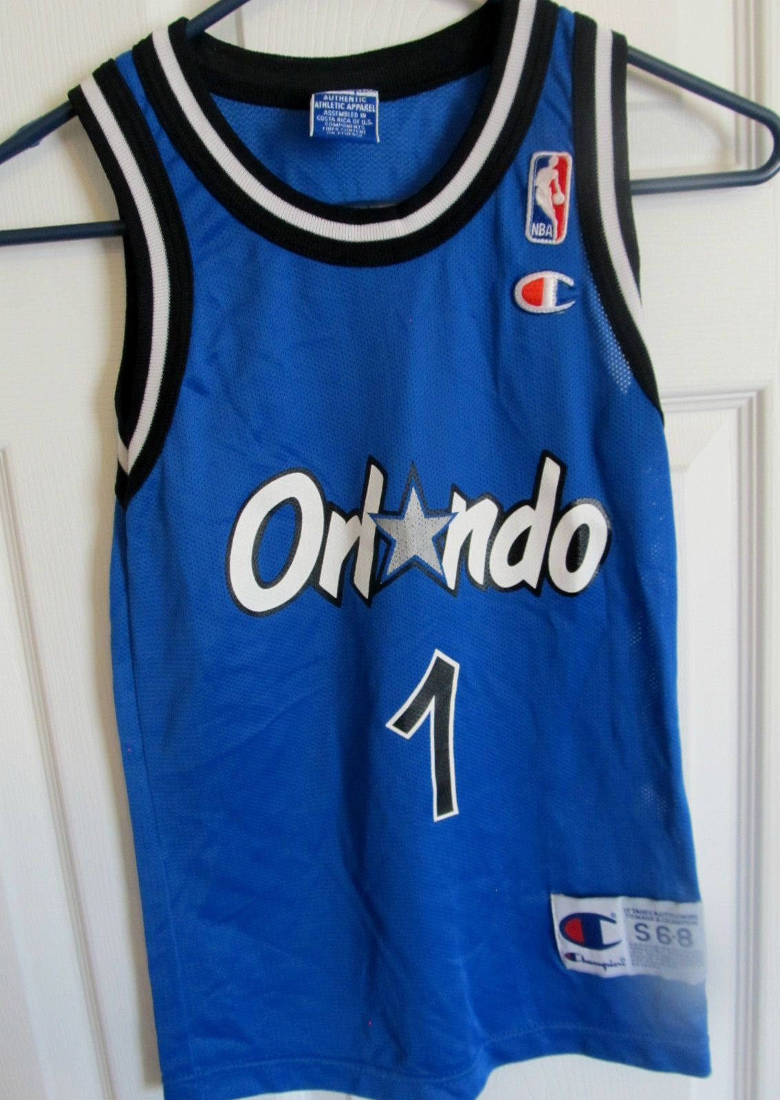 huge discount e40fa fd008 Vintage CHAMPION Anfernee 'Penny' Hardaway , Orlando Magic ...