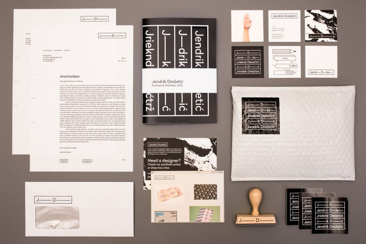 Graphic Design Self Promotion: 8 Fun Projects | Promotion and Design ...