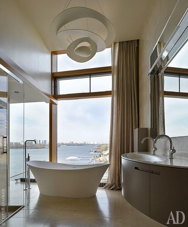 Квартира в u201cГороде яхтu201d, 600 м² Baños lujosos, Baños y Lujoso - baos lujosos