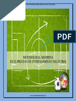 80 Sesiones De Entrenamiento De Futbol Pdf Sesiones De Entrenamiento Entrenamiento Futbol Ejercicios