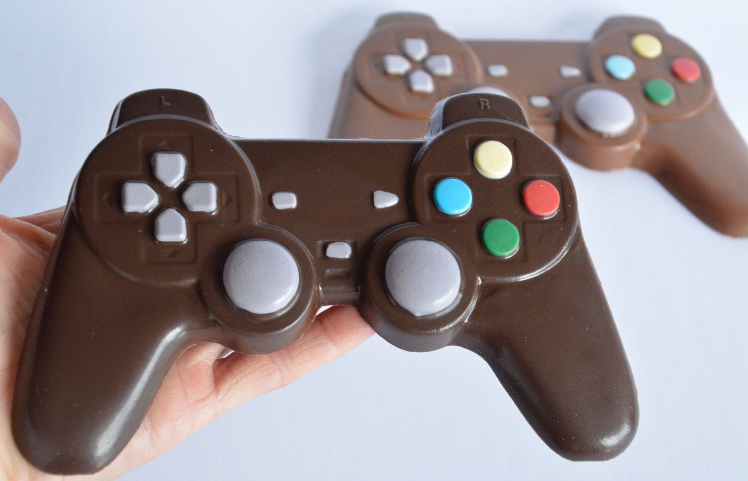 Chocolate Video Game Controller Chocolate Playstation Controller Chocolate Game Controller Chocolate Video Gamer Gift Wedding Favor Chocolate Videos Video Game Cakes Playstation Controller