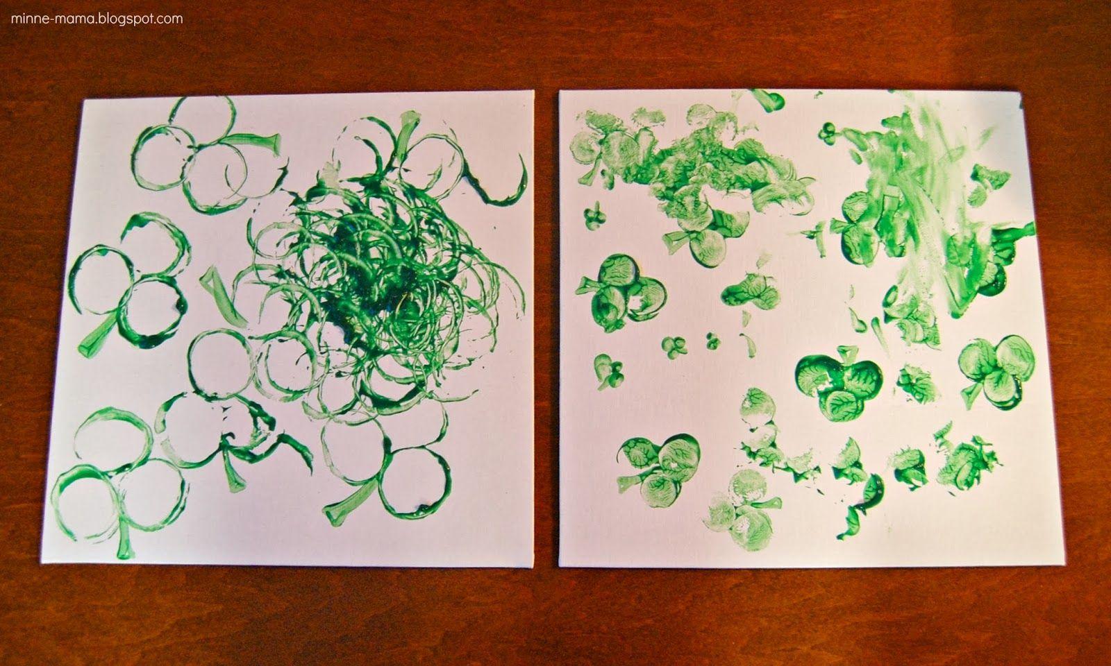 Shamrock Prints For Toddlers