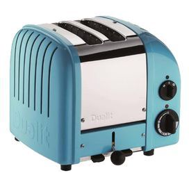 Dualit 2-Slice Toaster in Azure Blue