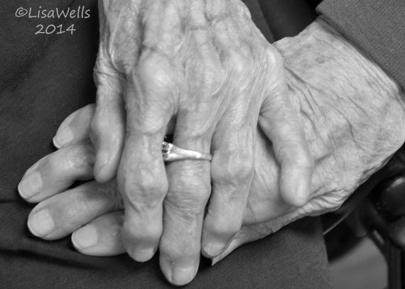 Intimacy Holding Hands Sepia