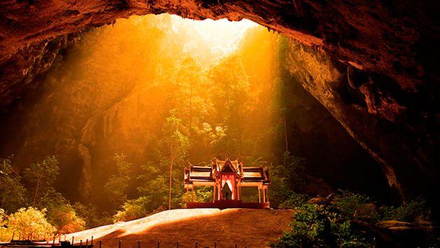Caverna de Phraya Nakhon, Tailândia.