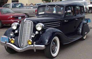 4dr  SEDAN - 1935