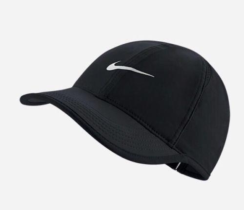 Nike Aerobill Featherlight Dri Fit Black White Unisex Tennis Cap Hat 679421 010 Nike Women Nike Hat Nike Sportswear Women