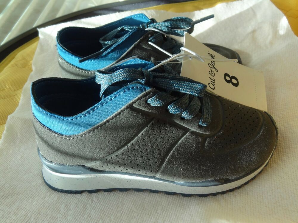 11958d5daf50 NEW Cat   Jack TARGET Gray Blue Boys Sneakers Shoes Sz 8  fashion  clothing   shoes  accessories  babytoddlerclothing  babyshoes (ebay link)