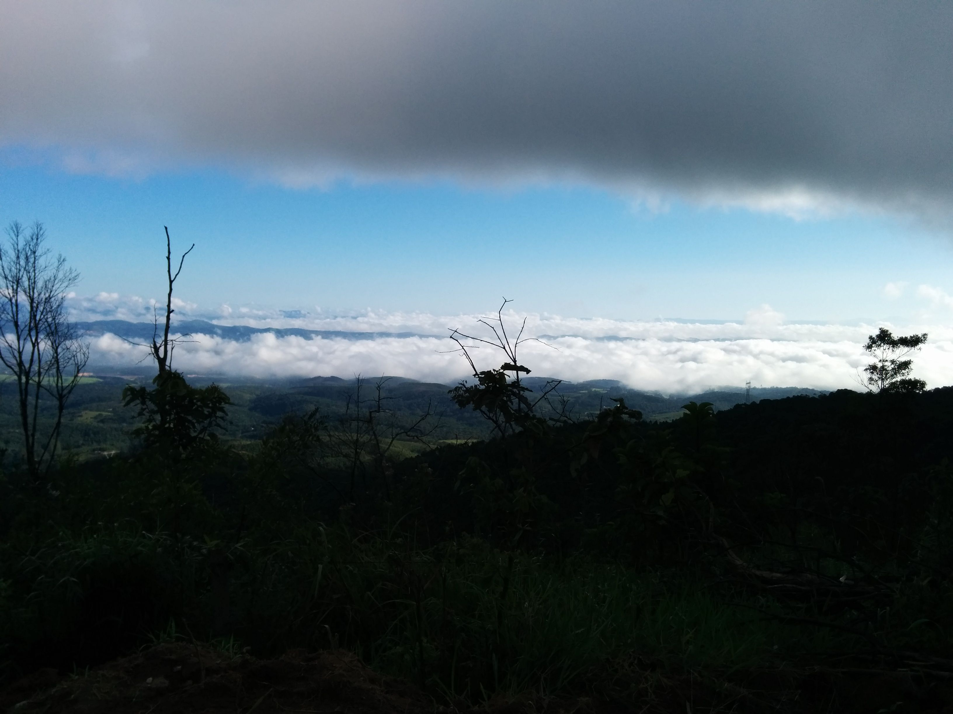 Pico do Urubu - vista de Mogi das Cruzes