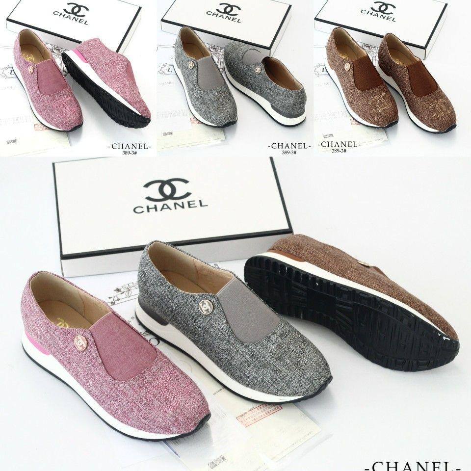 Sepatu Chanel 389 3 Kwalitas Semprem Berat 0 6 Include Box Heels
