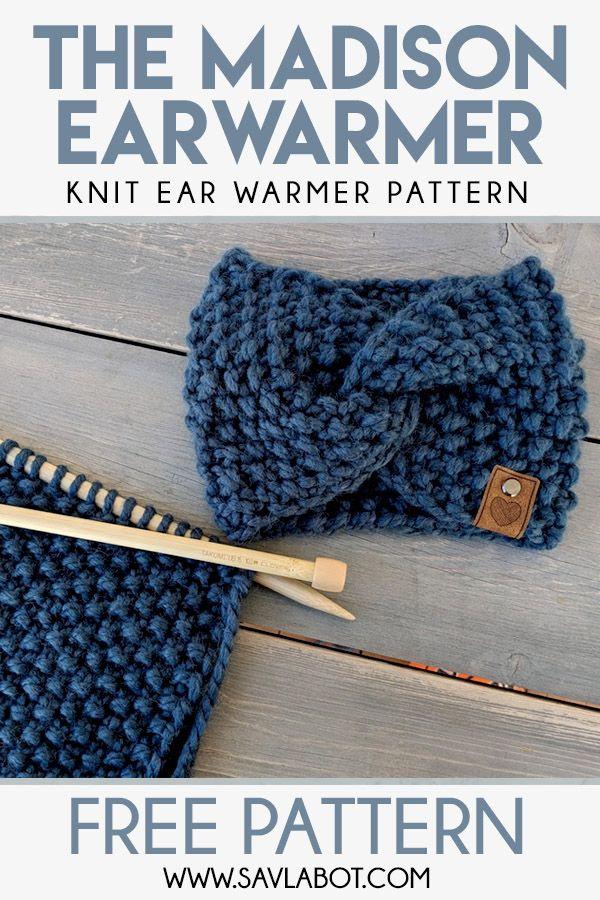 The Madison Ear Warmer Pattern