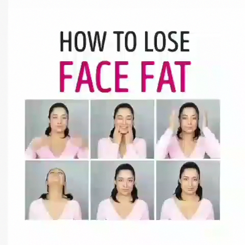 this video is really helpful for burning face fat