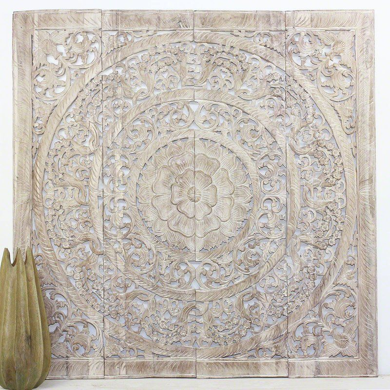 Wall Panel In Reclaimed Teak Wood Wall Decor In 2020 Wood Wall Decor Panel Wall Art Wall Decor
