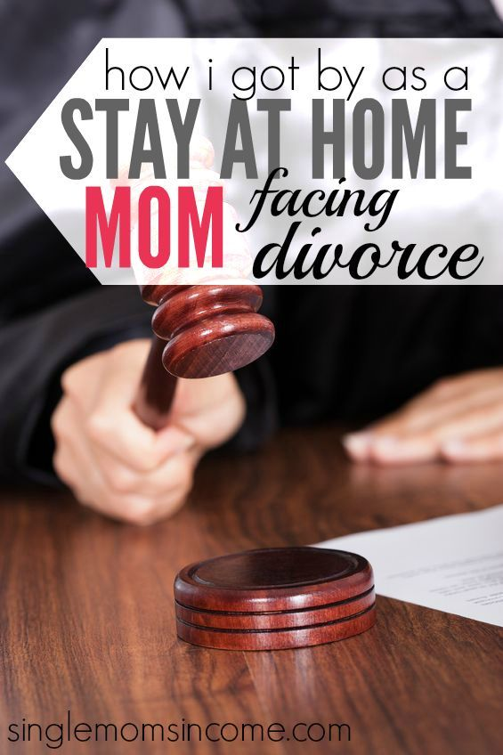 How I Got By as a Semi- Stay at Home Mom Facing Divorce #divorce