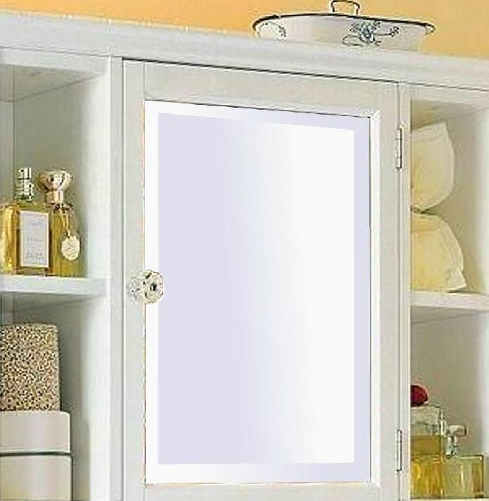Medicine Cabinet Bathroom Mirror Cabinets Argos White Large