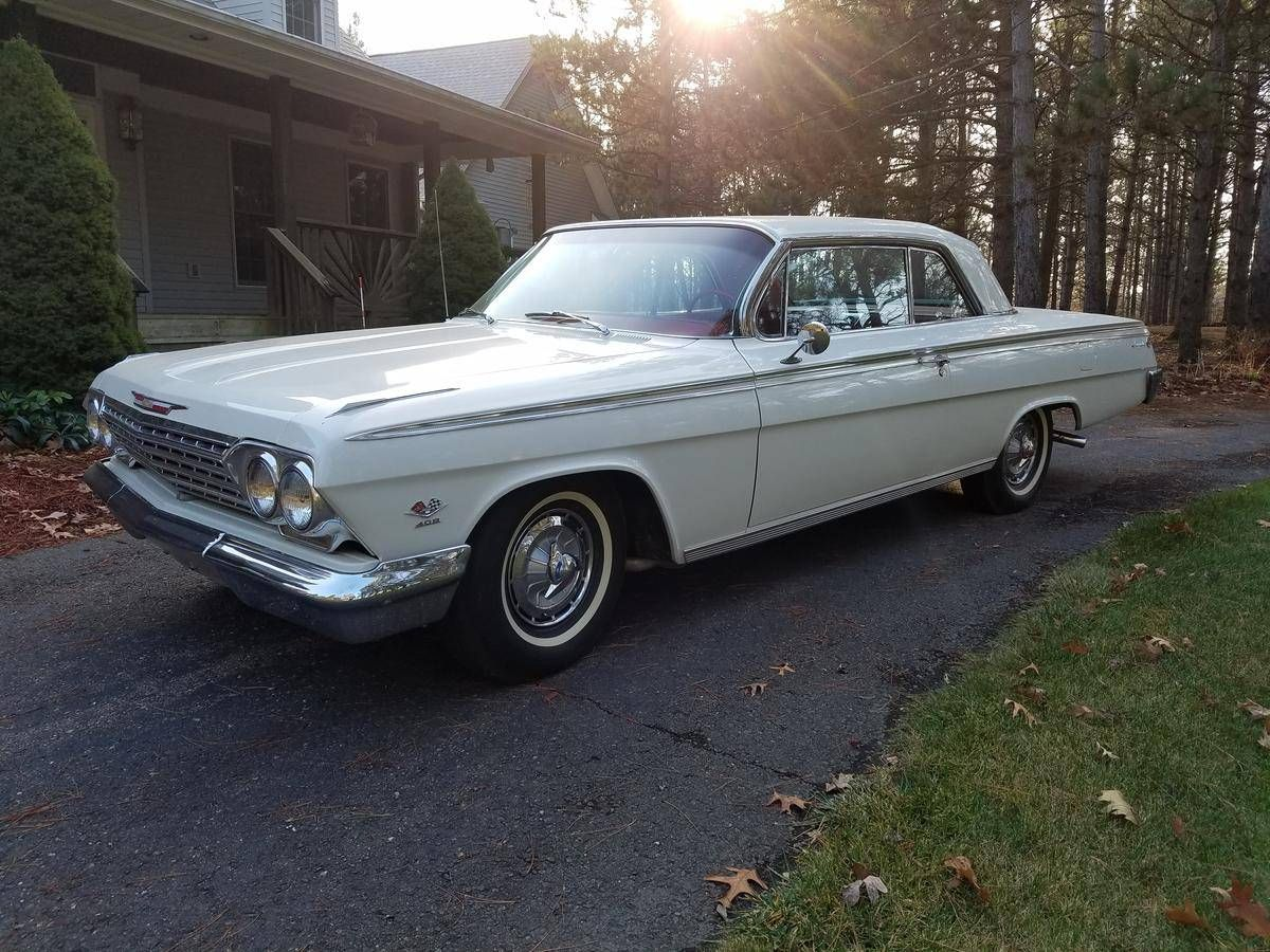 All Chevy 1962 chevy 409 for sale : 1962 Chevrolet Impala SS 409/409 | Chevrolet | Pinterest | Impalas ...