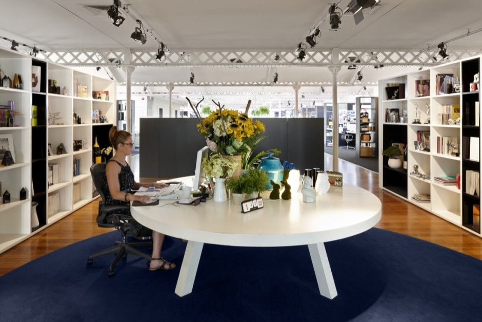 HASSELL designed the office interior for George