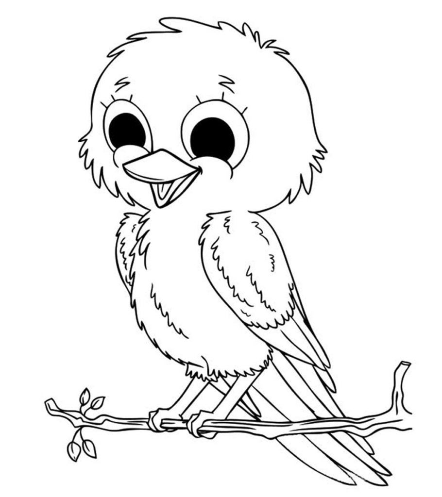 Top 20 Free Printable Bird Coloring Pages Online In 2020 Malvorlagen Ausmalbilder Kinder Ausmalbilder