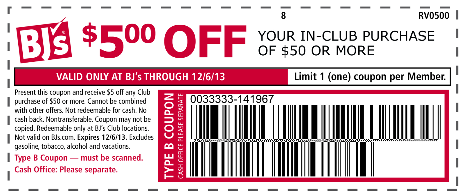 picture about Bjs One Day Pass Printable named Pin upon The Coupon codes Application