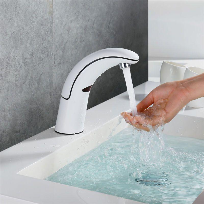 Kaltwasser Infrarot Wasserhahn Waschtischarmatur Sensor Armatur