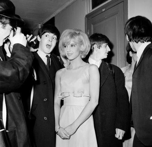 Sylvie Vartan And The Beatles The Beatles Beatles Pictures Paul Mccartney