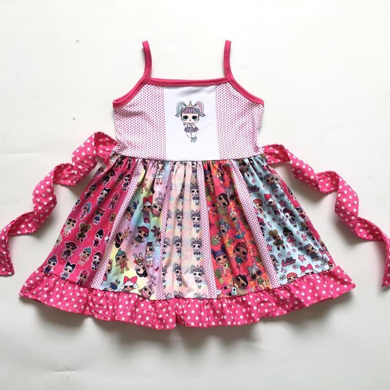 girls ruffle boutique LOL dolls spring birthday summer mermaid outift