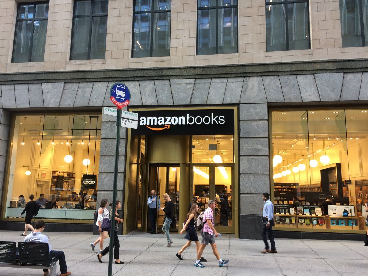 Amazon Books Opened Its 11th Store On 29th August And Its Second In New York City Located On 7 West 34th Street The Store Sits Sitting Directly Across The Str
