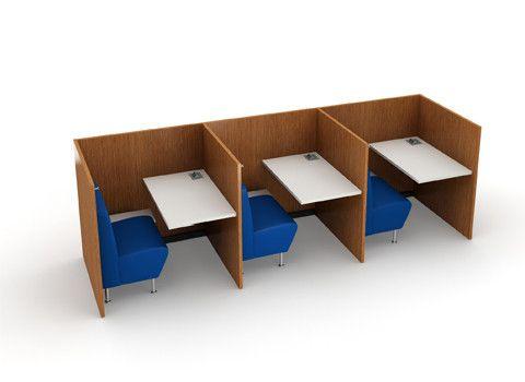 Study Carrels - Nook | Agati Furniture
