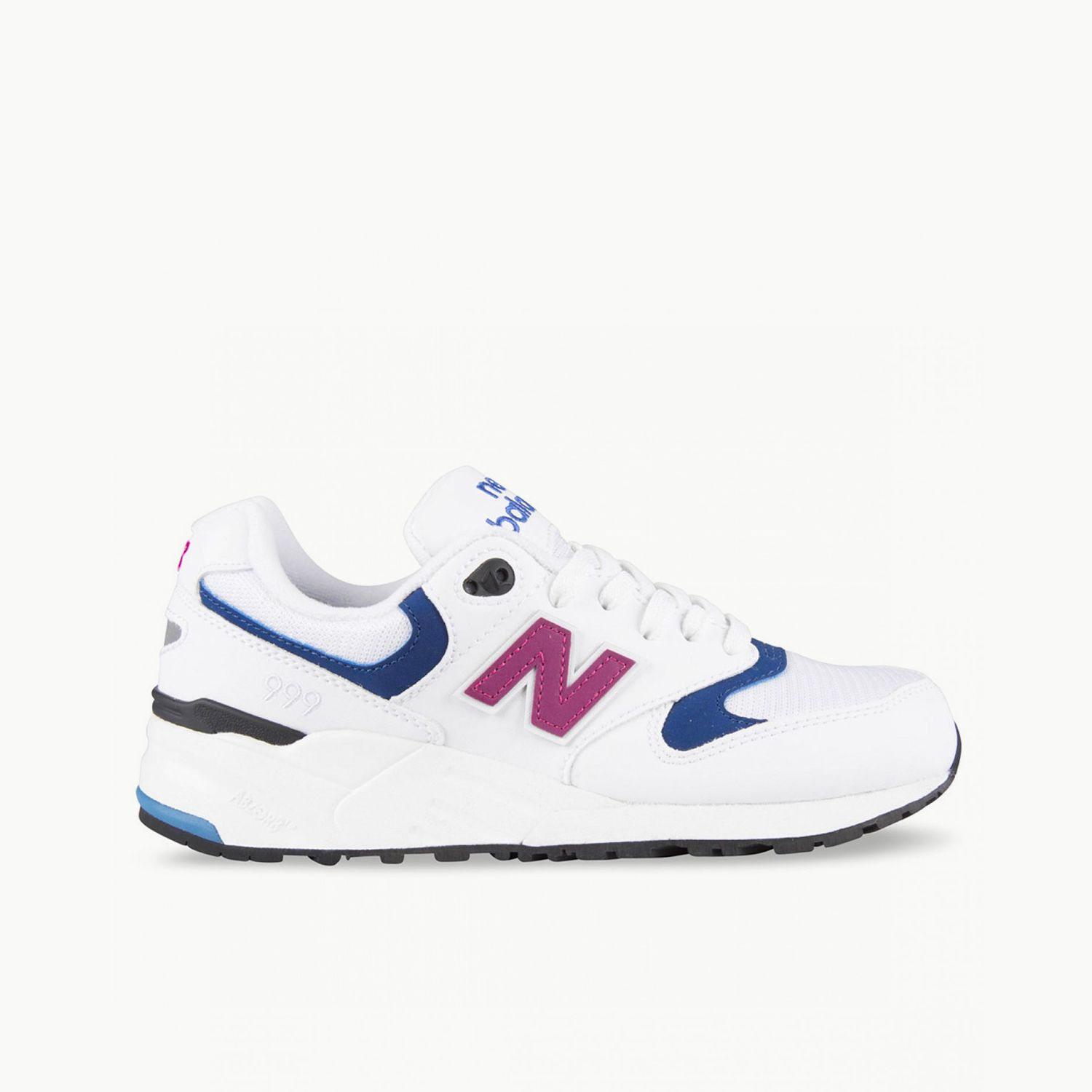 NEW BALANCE 999 (WOMENS): White/Purple/Navy WO | Available ...