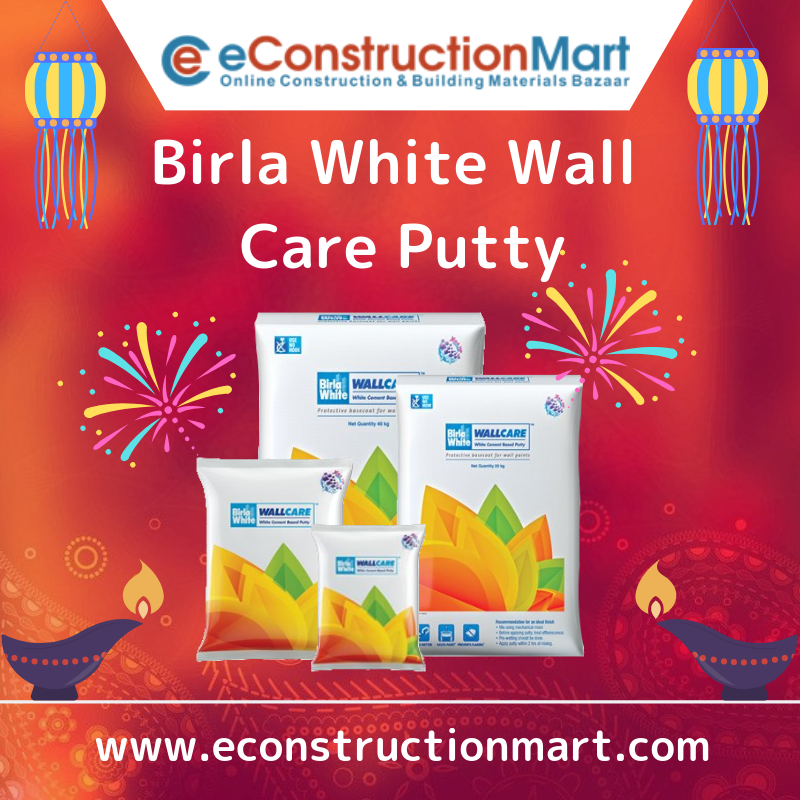 Birlawhite One Stop Solution For Your Wall Care Need With The Finest Products At An Affordable Price Https Bit Ly 2ehtybi Birlawhitecem Cement Online Care