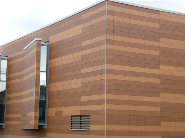 Terracotta Rainscreen Cladding Craftsman Home Exterior