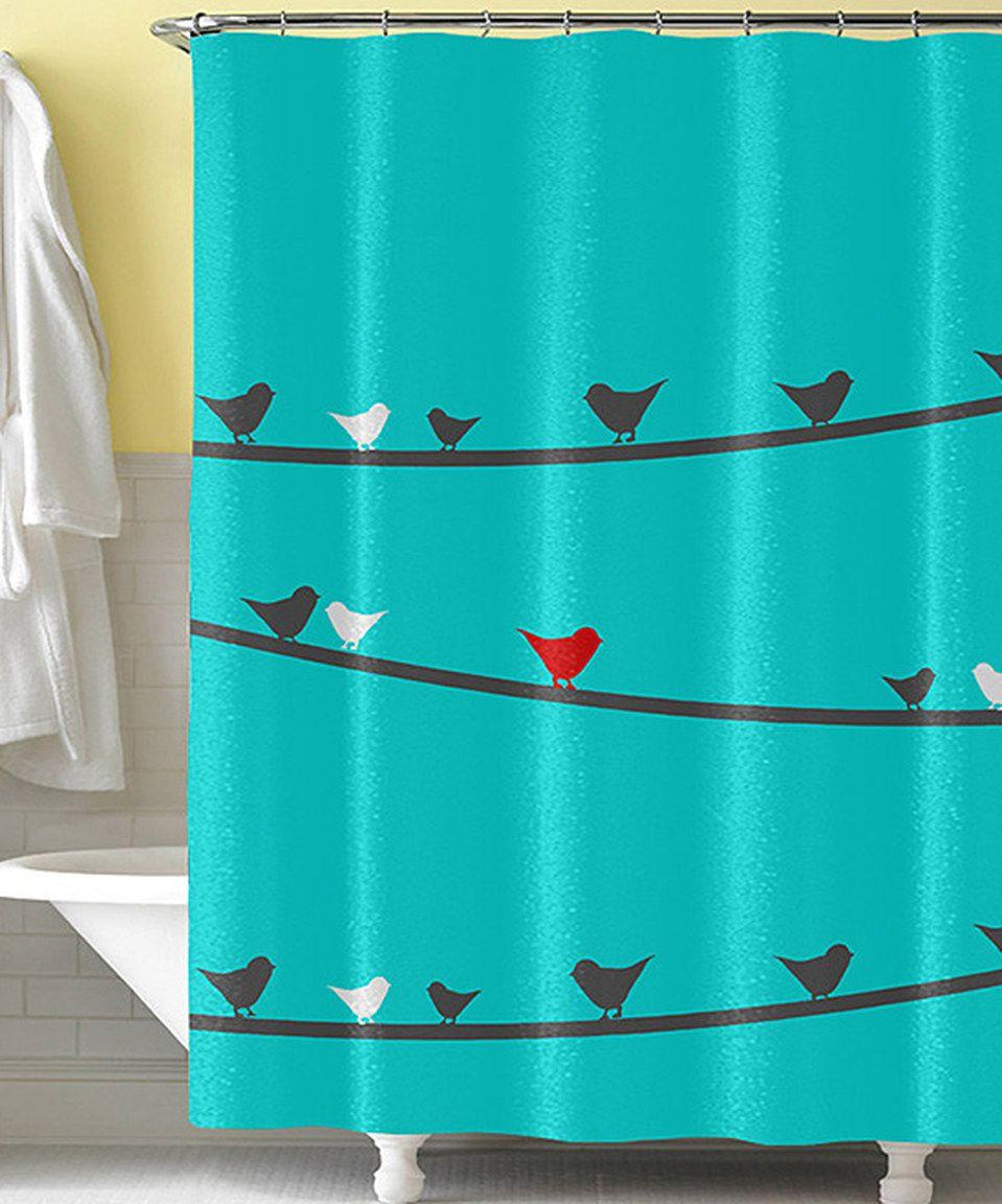 Blue Robin Egg Shower Curtain