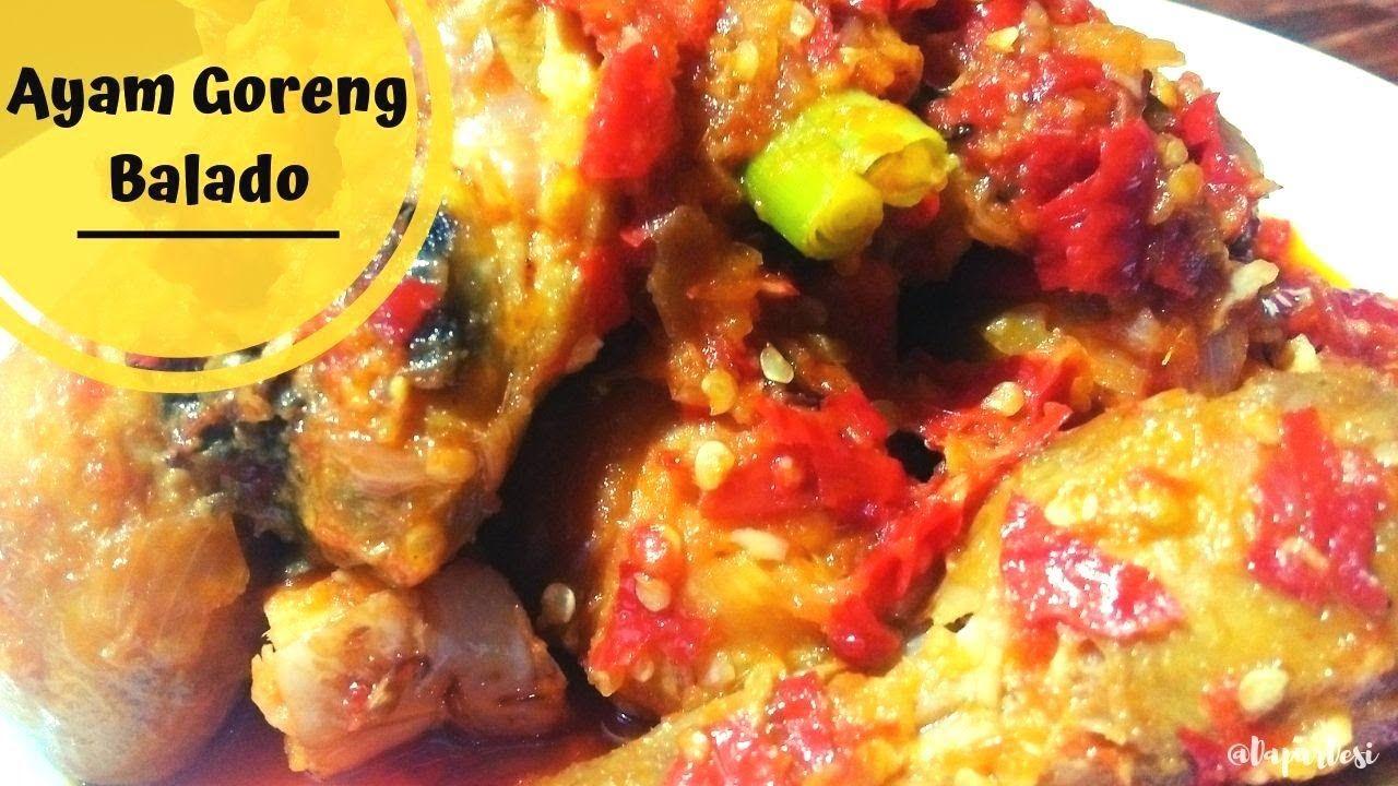 Resep Ayam Goreng Balado Pedas Mantul Resep Ayam Ayam Goreng Resep Masakan