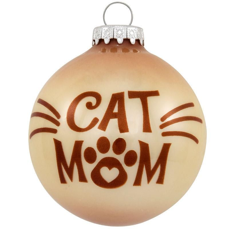 personalized christmas ornaments with dog and cat