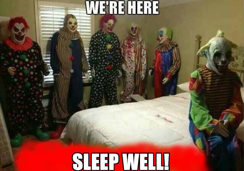 Difficult tell. Scary sweet dreams meme pity