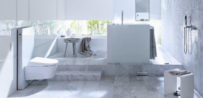 Geberit Monolith voorzetwand toilet - badkamer | Pinterest ...