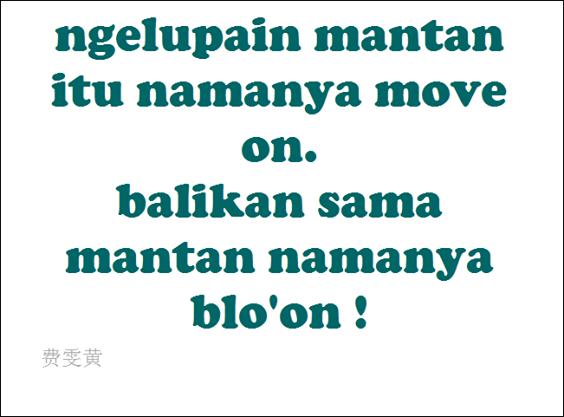 Move On Vs Bloon Lucu Kata Kata Meme Lucu