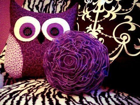 DIY OWL Pillow (With images)   Crafts, Owl crafts, Diy crafts