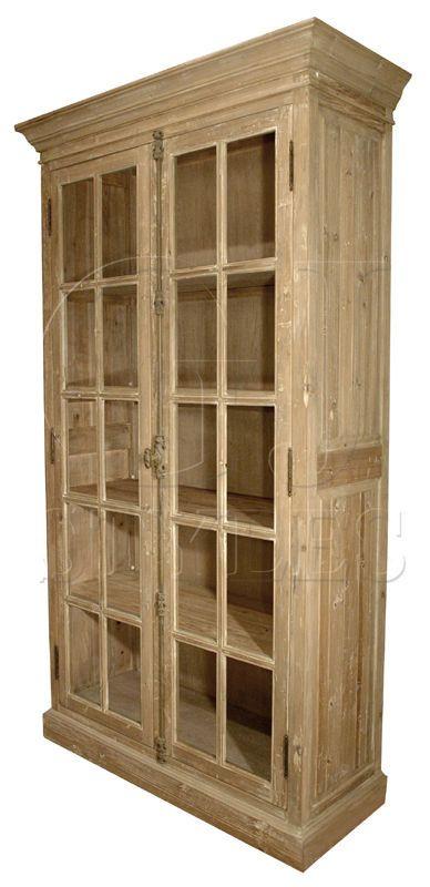Farmhouse Reclaimed Pine Wood 5 Shelves