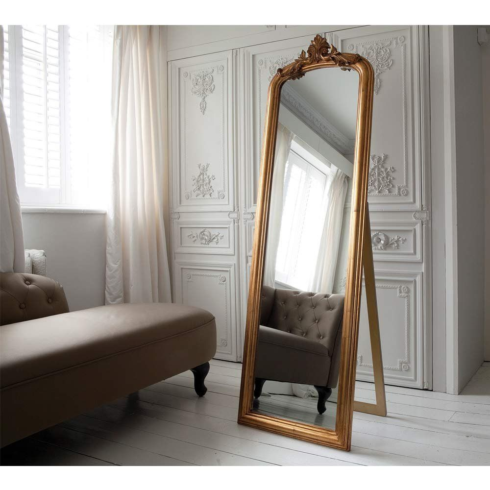 Glorious Gilt Mirror Full Length Mirror French