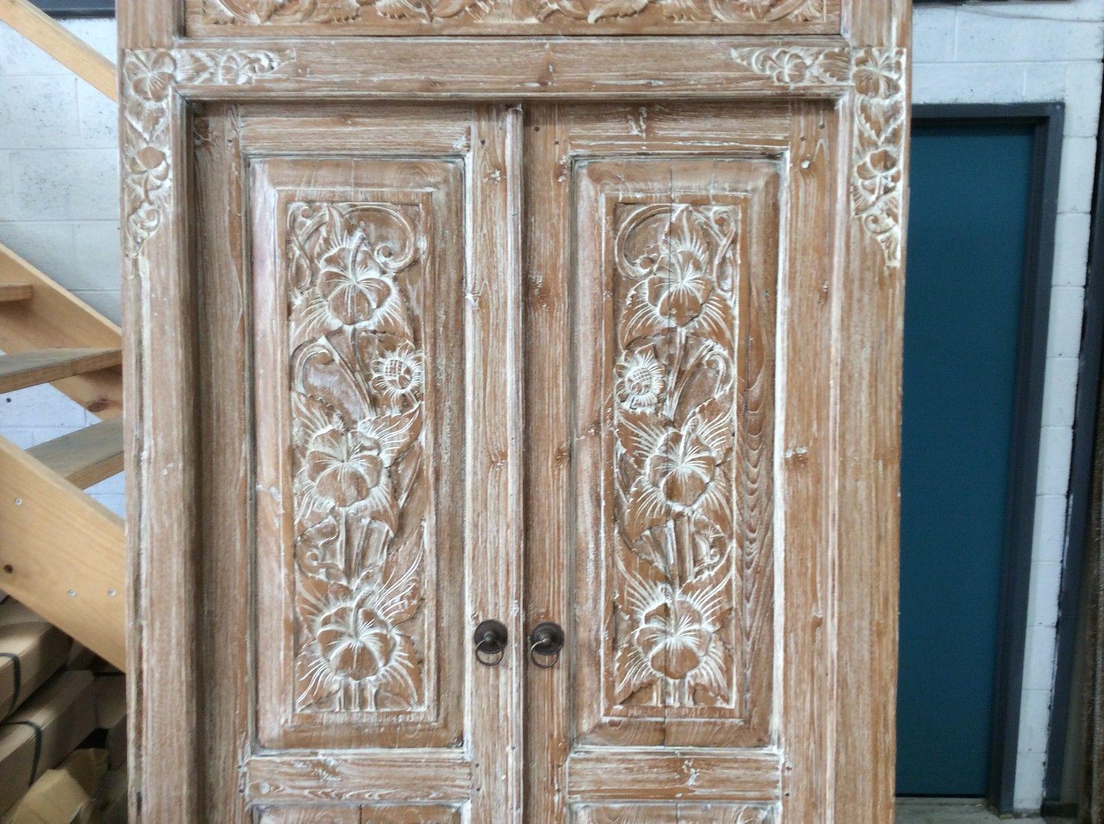 EXTRA LARGE BALINESE DOORS  eBay #extralargearmoirewardrobe