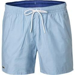 Photo of Lacoste swim shorts men, cotton, blue Lacoste