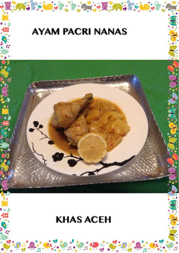 Ayam Pacri Nanas Khas Aceh Nanas Ayam