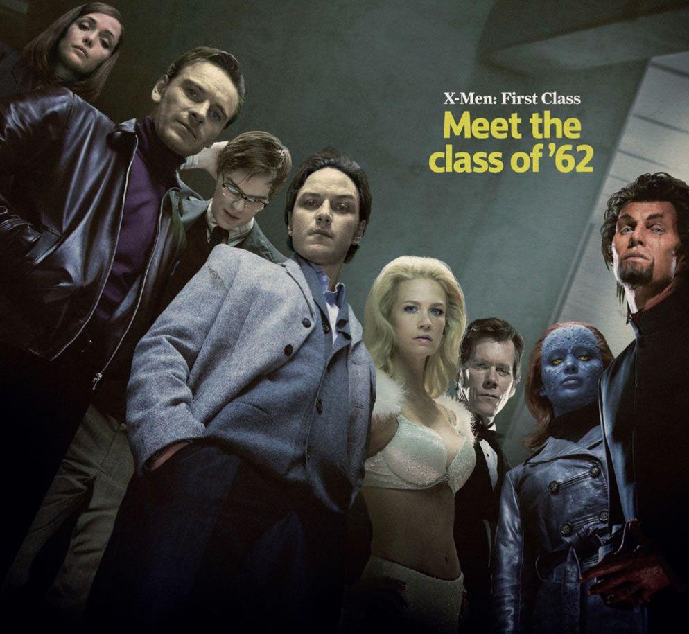 2 New X Men First Class Cast Photos X Men Jennifer Lawrence Photos Music Book