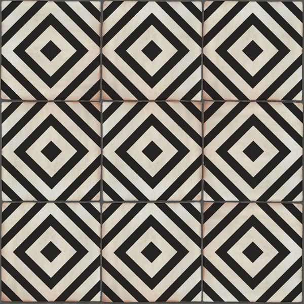 Decorative Picture Tiles Simple Sevilla Decor 200X200 Black & White #decorative #tile Design Inspiration