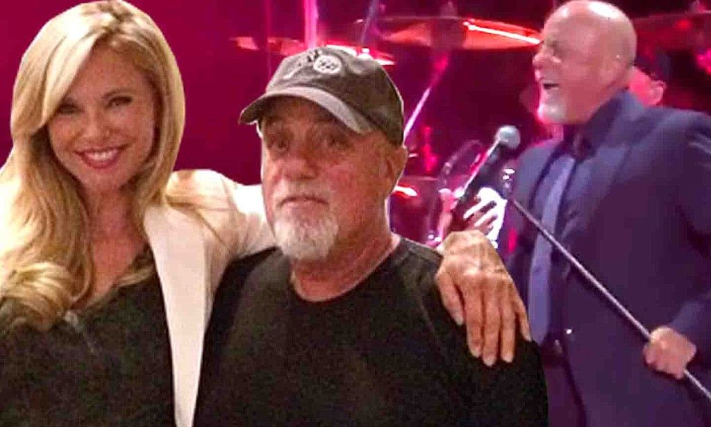 Still his Uptown Girl.......Billy Joel sings the song to ex Christie Brinkley at Madison Square Garden.