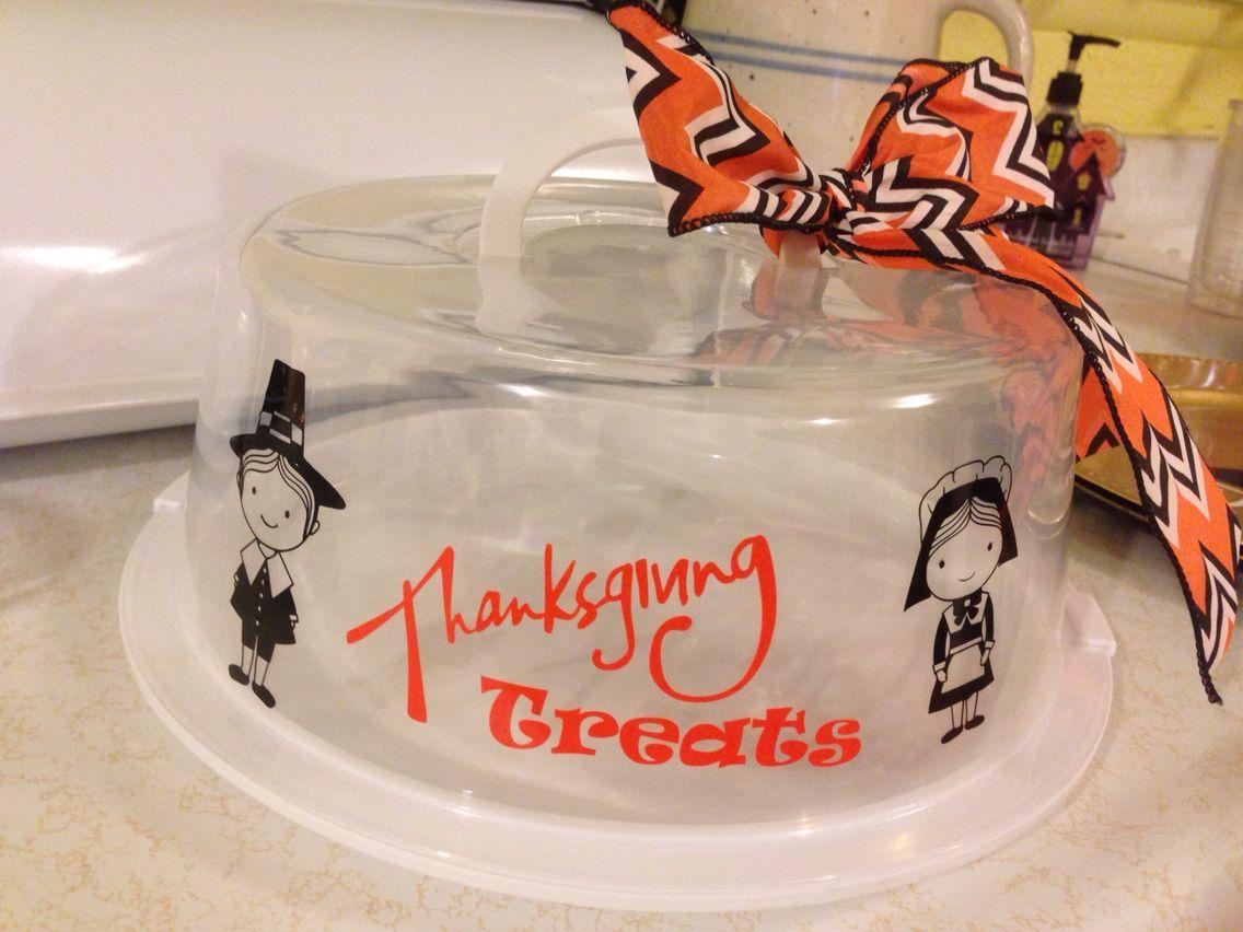 Thanksgiving Cake Taker