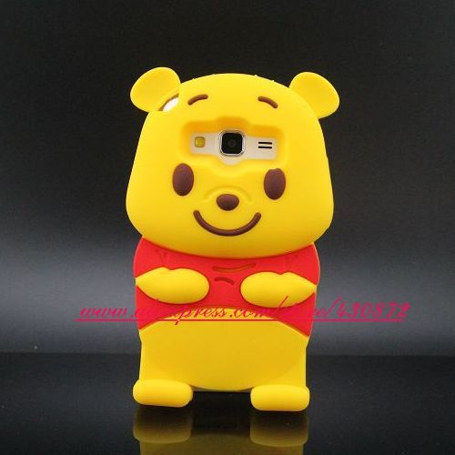sale retailer 091e7 7838c For Samsung Galaxy Core Prime Hot 3D Silicon Bear Soft Phone Back ...